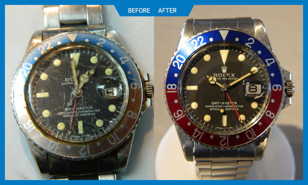 Thanks to their team for the awesome work on my broken Rolex. Very pleased about the final result.  Murtaza Hussain